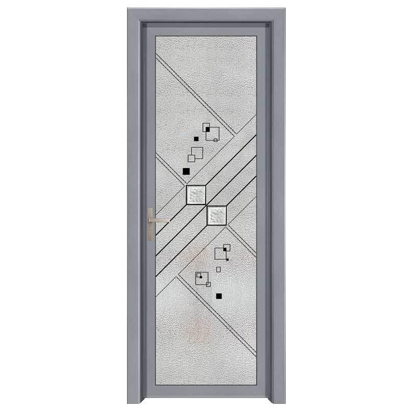 1.4简窄平开门-太空灰
